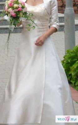 Do sprzedania suknia ślubna ecru 36
