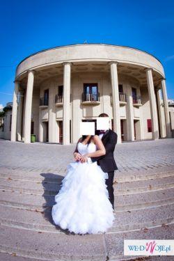 Dwufunkcyjna suknia ślubna (krótka-długa)