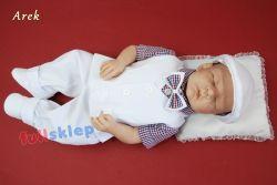 Dziecięce bawełniane ubranko do chrztu lub na roczek