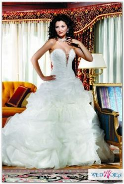 Eddy K. - suknia ślubna robi wrażenie!!!!