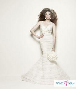 Efektowna sukienka ślubna z kolekcji Pronovias