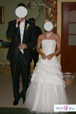 Efektowna suknia ślubna!!!