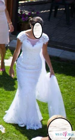 ekskluzywna suknia slubna