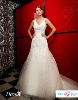 Ekskluzywna suknia ślubna HERM'S sezon 2009/2010