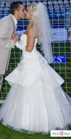 Ekskluzywna suknia ślubna -OKAZJA!!! SUPER CENA