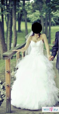 Ekskluzywna suknia ślubna !!! Tanio !