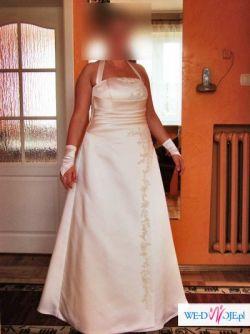 Eleganacka suknia slubna z salonu Chantilly, rozm. 42/44