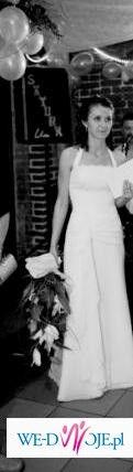 Elegancka i orginalna suknia ślubna
