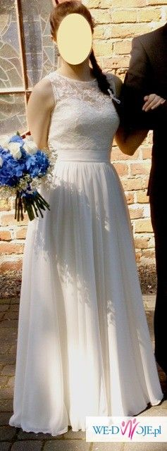 Elegancka i subtelna suknia Atelier Desirer