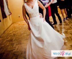 .....:Elegancka i wyjątkowa suknia ślubna roz. 36/38:.....