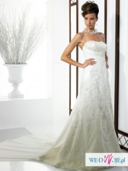 Elegancka i z klasą suknia ślubna ~ Moonlight