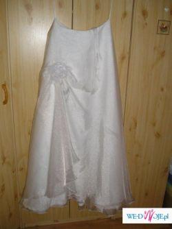 Elegancka spodnica ślubną