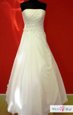 ELEGANCKA sukienka ślubna rozm 36 wzrost 168cm OKAZJA!!!!