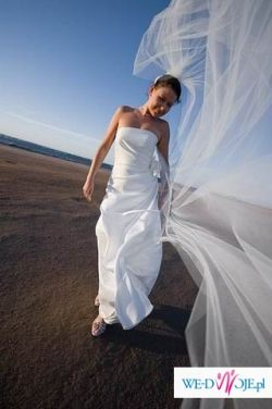 elegancka suknia renomowanej firmy Pronuptia model Silage OKAZJA!!!