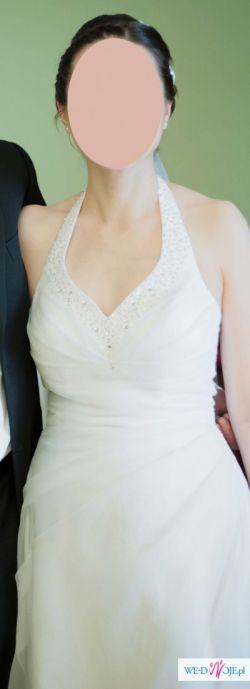 Elegancka suknia ślubna 36-40