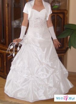 Elegancka suknia ślubna...