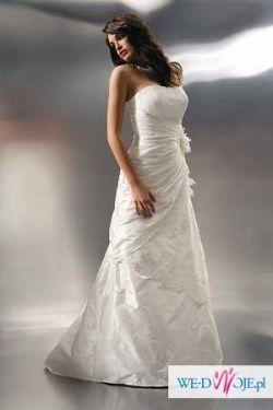 Elegancka suknia ślubna Agnes