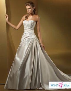 Elegancka suknia ślubna Anjolique - niedostępna w Polsce