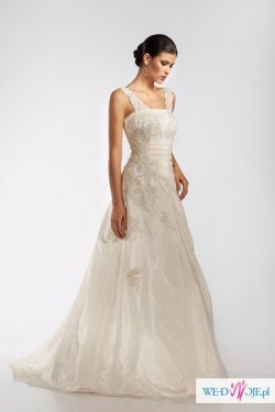 Elegancka suknia ślubna DALIT (42-44) GRATISY!!