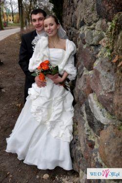 Elegancka suknia ślubna dla Księżniczki BCM