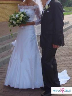 Elegancka suknia ślubna GELLA z kolekcji Gala 2009
