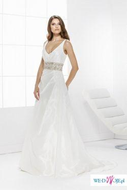 Elegancka suknia ślubna Hollie z kolekcji Gala 2009 r.+dodatki