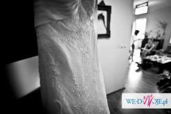 Elegancka Suknia Ślubna (koronkowa)