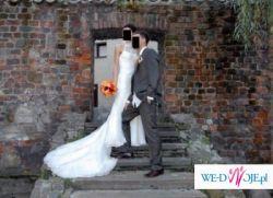 Elegancka suknia ślubna Madonna LA Sposa
