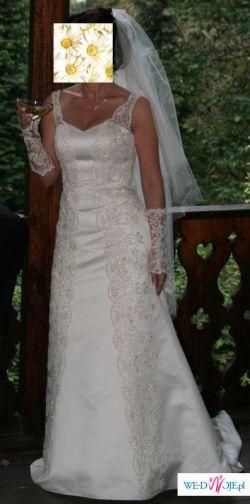 Elegancka suknia ślubna NABLA