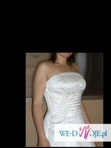 elegancka suknia ślubna - okazja!