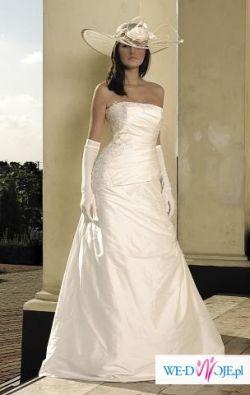Elegancka suknia ślubna PAPA MICHEL 2007