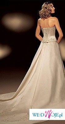 Elegancka suknia ślubna ST.PATRICK