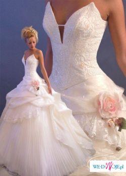 Elegancka suknia ślubna Szarm 40