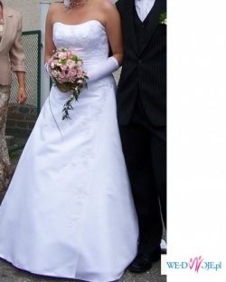 Elegancka suknia ślubna z kolekcji 2007