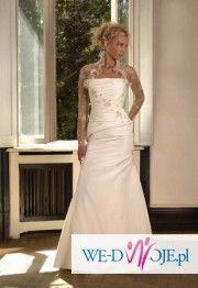 elegancka suknia ślubna z kolekcji Biancaneve 2007, model 405