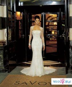 Elegancka  suknia z firmy Justin Alexander