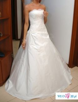 Elegancka suknia z Włoch