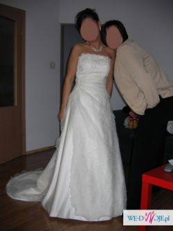 Elegancka, włoska suknia ślubna!