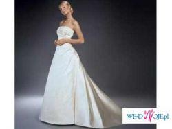 Elegancka, zjawiskowa... TA JEDYNA... Mariees de Paris model DAMAS