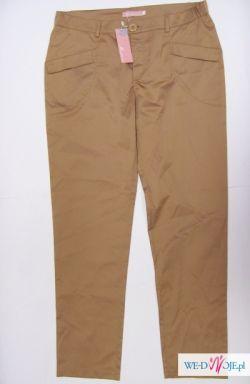 Eleganckie chinosy spodnie 40/42 nowe