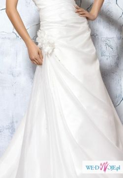 e98cd6cbeb Elizabeth Passion Suknia Ślubna 36 prosta zwiewna elegancka - Suknie ...