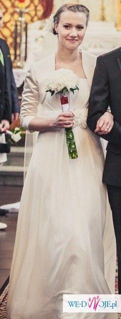 Empire sukienka ślubna