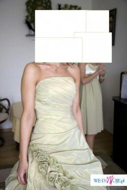 fantastyczna, niepowtarzalna  suknia ślubna