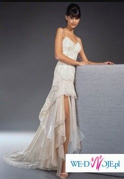 Fantastyczna suknia dla odwaznej Panny Mlodej