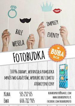 Fotobudka BubaBox - atrakcja na Twoje wesele