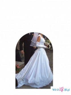 Francuska suknia ślubna