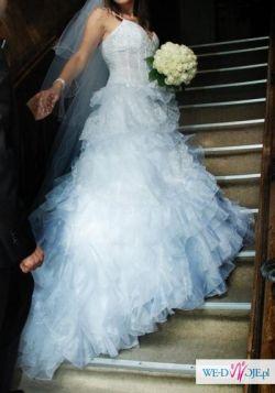 Francuska Suknia ślubna Elizabeth Passion kolekcja exclusive 2011 model 3002
