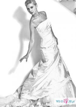 Francuska suknia ślubna- Paris- nowa-38
