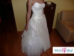 Francuska suknia ślubna z salonu Cymbeline model Cheverny/Belinda kolekcja 2009