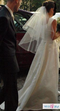 Francuska suknia + szal